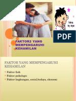 faktor mempengaruhi kehamilan.ppt