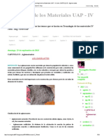 Tecnología de Los Materiales UAP - IV Ciclo_ CAPITULO 5 _ Aglomerantes