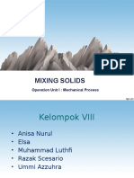 Ppt Mixing Solids