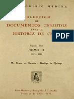 Colección Documentos Inéditos, Tomo II, Segunda Serie..pdf