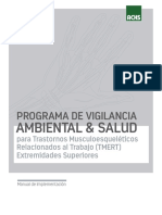 Manual de Implementacion Protocolo Trabajo Repetitivo (Tmert)