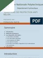 Solution Protection Anti Bélier