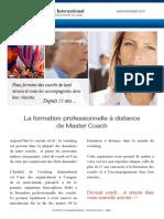 Documentation Master Coach