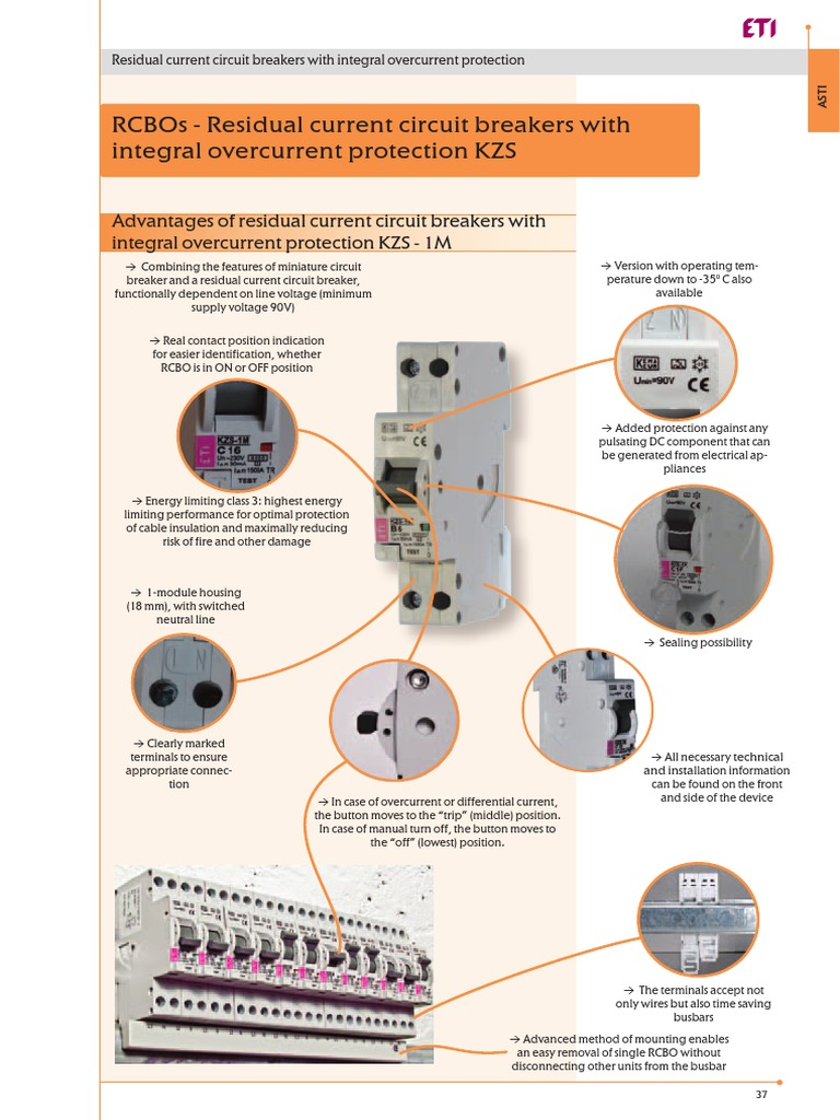 Rcbo Kzs Equipment Electric Power Wiring Diagram