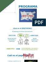 Mentoring en Administradores