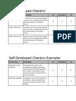 self-developedchecbric