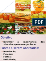 Seminário Bromatologia Vita D