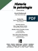 Hothersall, D. Historia de La Psicología (Cap. 9)