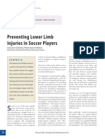 Preventing Lower Limb Injuries in Soccer Players.