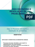 Proce Decisório e Resolução de Prob