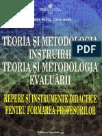 Teoria Si Metodologia Instruirii. Teoria Si Metodologia Evaluarii - Musata Bocos, Dana Jucan