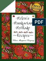 Helens Hungarian CookBook