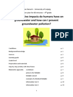 lesson plan - ground water
