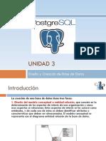 Creación de Base de Datos en PostgeSQL