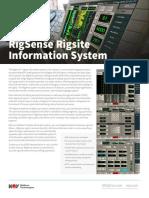 RigSense Rigsite Information System Flyer