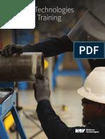 2017 Wellbore Customer Training Catalog