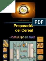 Preparación de Cereal
