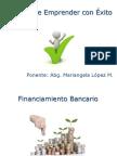 Financiamiento Bancario El Arte de Emprender Con Éxito