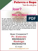 PALAVRA E SOPA