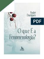 O que é Fenomenologia - ANDRÉ DARTIGUES .pdf