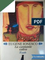 La Cantante Calva - Eugene Ionesco