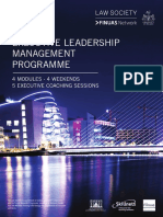 F1532 Executive Leadership Management Programme 2016 BROCHURE