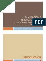 Introducción - Planeacion e Innovacion de Gestion de MKT-1