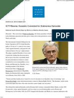 ICTY_Bosnia_ Karadzic Convicted for Srebrenica Genocide