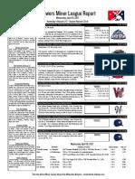 4.19.17 Minor League Report