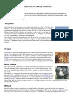 Animales y Plantas en Peligro de Extinción