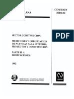 2000-2-1992 Mediciones y Cod de Partidas Para Estudios Proyectos y Construcciones Parte Iia Edificaciones (1)