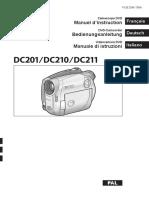 Manuale Videocamera