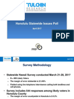 Hawaii PRP Honolulu GET-Issues Survey Presentation