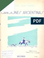 Canciones Argentinas (Carlos Guastavino)