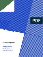 COP 3 Proposal