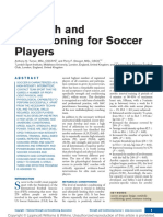 Strength and Conditioning for Soccer Players.