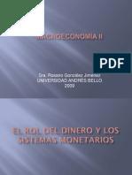 El Rol Del Dinero y Los Sistemas Monetarios