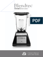 Blendtec Total Blender Classic Manual