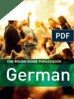 The Rough Guide German Phrasebook