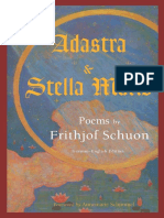 Schuon, Frithjof - Adastra and Stella Maris, Poems by Frithjof Schuon (2003)