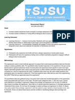 final assessment report - actsjsu 2016 2017