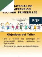 Taller de Capacitacion Comprension Lectora II