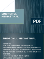 SINDROMUL MEDIASTINAL(1)