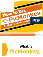 [Made Easy] How to Use PicMonkey  - Tutorial for beginners.