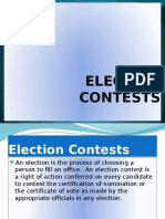 Election Contests