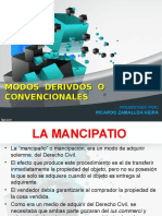 3 Rzn Modos Derivados o Convencionales d.r.y a.