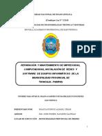 Reparación y Mantenimiento de Impresoras, Computadoras, Instalación de Redes y Software - Copia