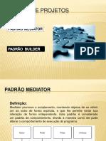 Padrões de Projetos - Padrão Mediator
