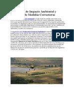 Evaluación de Impacto Ambiental y Aplicación de Medidas Correctoras