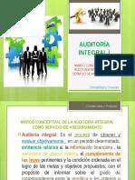Auditoría Integral Servicio de Aseguramiento